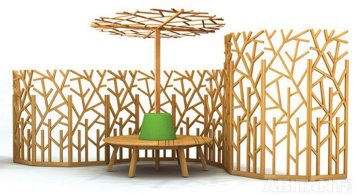 Ширма и стол для сада