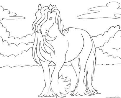 Tolle Baby Pferd Malvorlagen Zum Ausdrucken Bilder - Beispiel ...