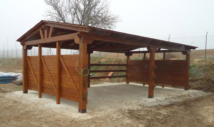 Modified pole barn barns pinterest shelters sheds for Log pole barn