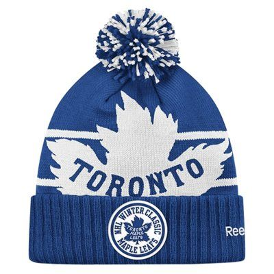 toronto maple leafs winter toque not hat| Reebok Toronto Maple Leafs Winter Classic 2014 Goalie Cuffed toque ..