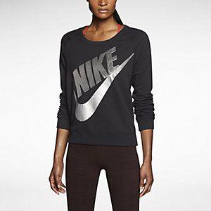 Nike Rally Sequin Crew Women's Sweatshirt. Nike Store UK