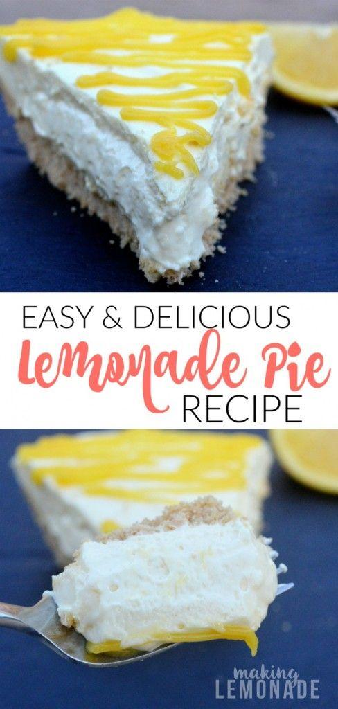 Refreshing Lemonade Pie Recipe | Making Lemonade