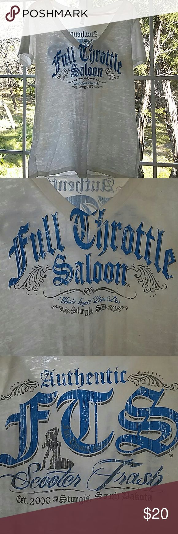 Sturgis, SD Shirt The real deal.. Went in 2000.. Like NEW.. WORE LIKE TWICE.. FITS MORE LIKE XL.. Sturgis, South Dakota Scooter Trash.. Tops Tees - Short Sleeve