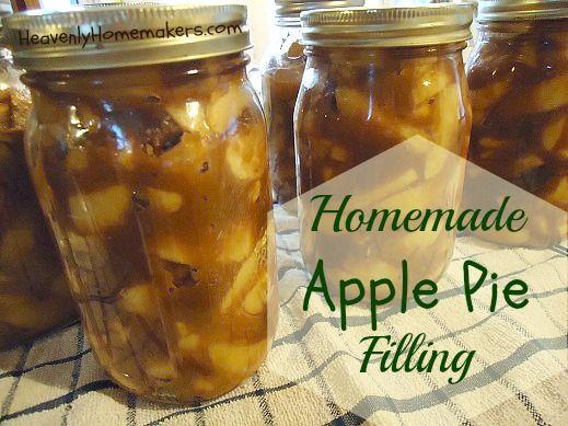 Apple Pie Filling - Can it or Freeze it!