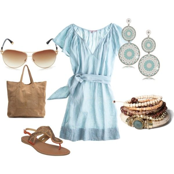 Very cute!: Baby Blue, Summer Dresses, Cute Baby, Summer Looks, Dreams Closet, Blue Dresses, Spring Summ, Summer Outfits, The Dresses