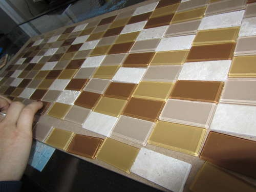 portable backsplash for renters mosaic tiles mosaics and apartments