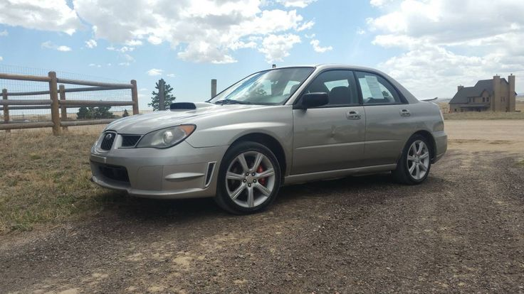 awesome Amazing 2006 Subaru WRX WRX TR 2006 Subaru impreza WRX Turbo 2.5L unmodified AWD 5 speed SEDAN  DEALER 2018-2019 Check more at http://24carshop.com/product/amazing-2006-subaru-wrx-wrx-tr-2006-subaru-impreza-wrx-turbo-2-5l-unmodified-awd-5-speed-sedan-dealer-2018-2019/