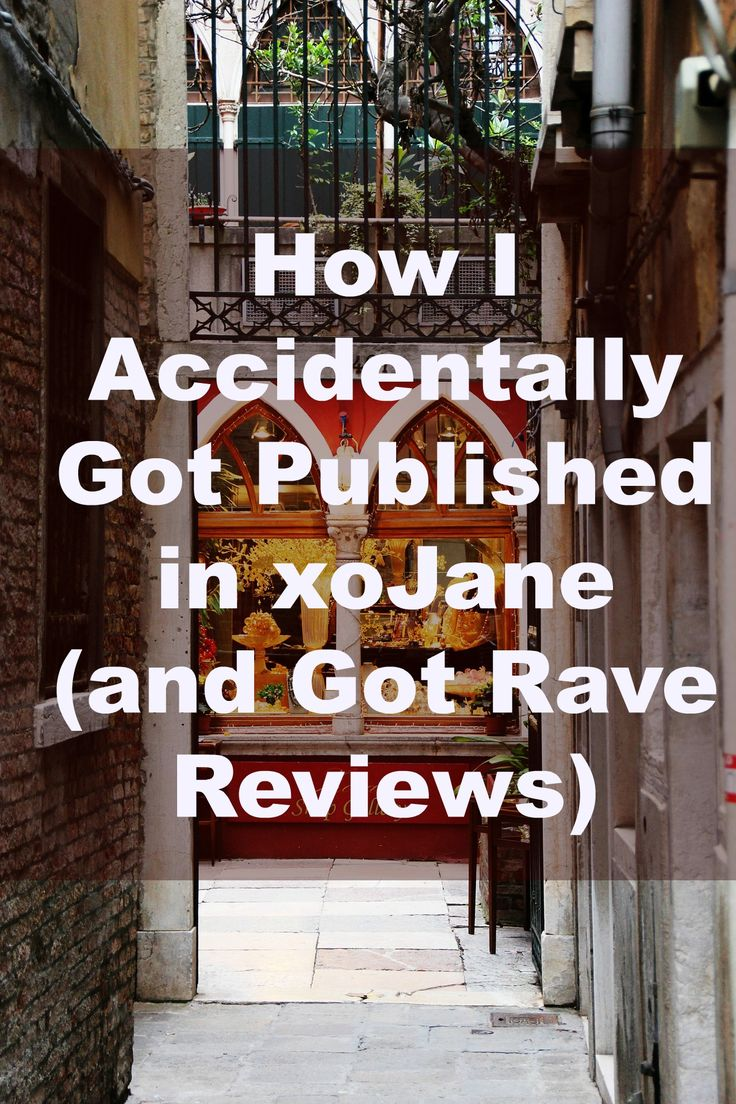 Ever wanted to snag a spot in a dream publication? Mine was Jane Magazine (which is now just xoJane). Turns out a strategy I used got me published there - but I didn't even know it! Here's how it happened...
