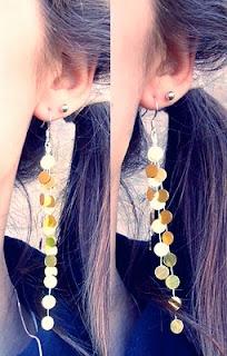 "Quiet Lion Creations: Karen London- ""Luxe""-inspired shiny earrings!"