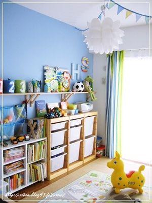 雑誌やカタログから飛び出たような、センスあふれる子供部屋