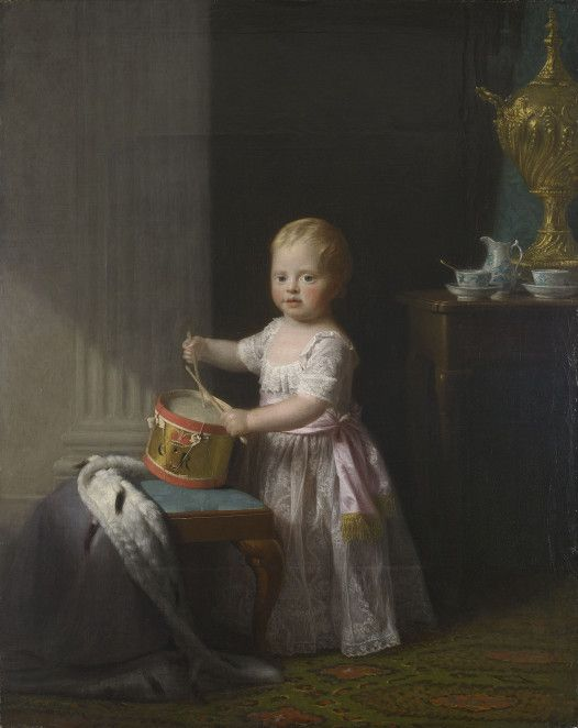 Prince William (1765-1837), later Duke of Clarence (later William IV) as a child.