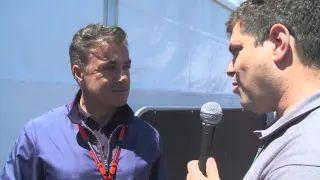 Jean Alesi pour CircuitTV FORMULA 1 GRAND PRIX DU CANADA 2015