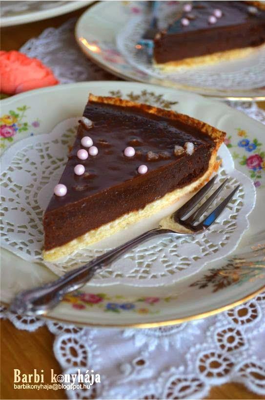 Receptek és hasznos cikkek oldala! : Csokoládés pite