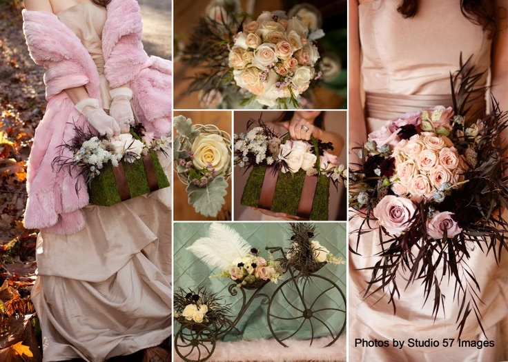 Inspirational photo-shoot, flowers by Julia's Floral, Edgewood, WA
