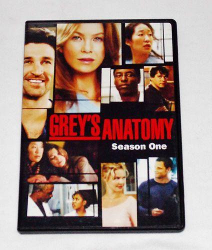 Grey's Anatomy - Season 1 (DVD, 2-Disc Set) Bonus Features 9 Episodes TV Shows