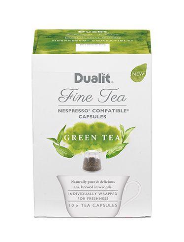 Dualit NX Fine Tea Capsule – Green Tea  Naturally Pure & Delicious…