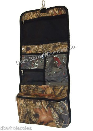 Camo Camouflage Hanging Cosmetic Case Toiletry Travel Roll Up Makeup Bag | eBay