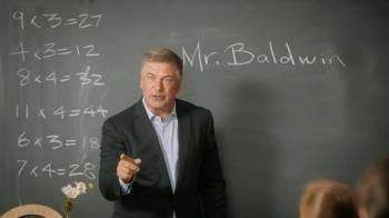 Class is in session with substitute teacher Alec Baldwin. Today's lesson: the perks of Capital One Double Miles.- iSpot.tv