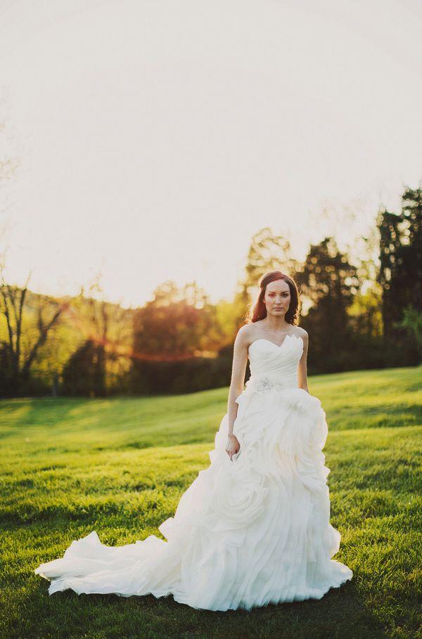 "Dress: Maggie Sottero ""Juliette"" | Photo By: Ariel Renae"