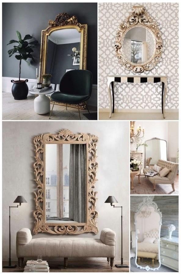 Las 25 mejores ideas sobre espejos dorados en pinterest - Recibidores leroy merlin ...