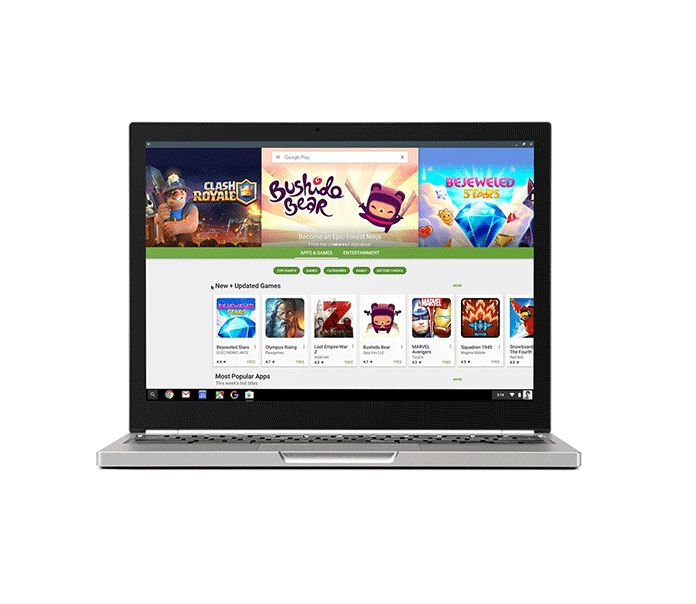 Android apps are coming to Chromebooks this year