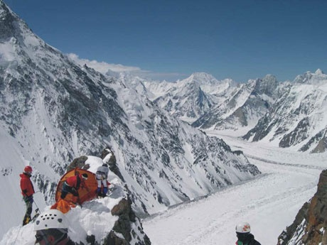 K2 Mountain Base Camp camps