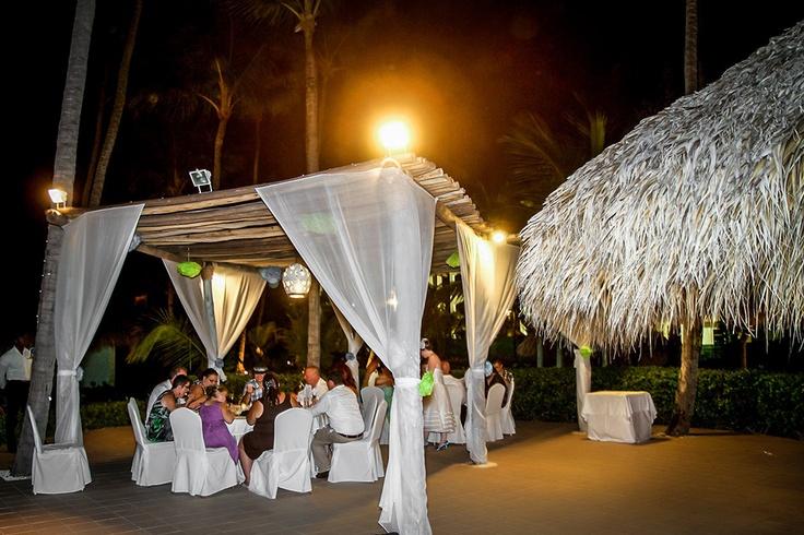 Parrot Bar Wedding Reception Majestic Colonial Punta Cana