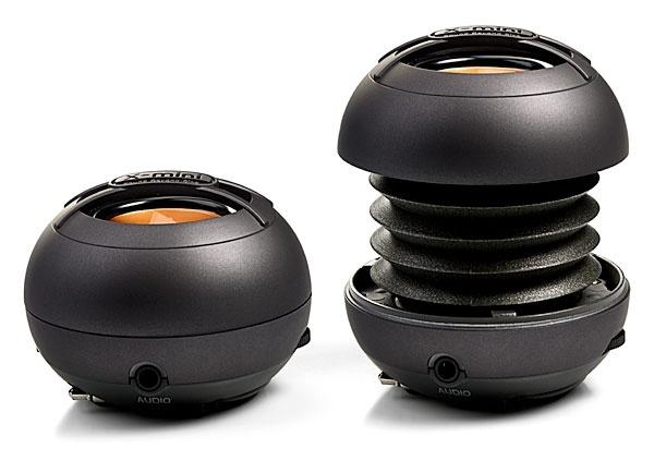 ThinkGeek :: X-Mini Capsule Speakers  Great portable design
