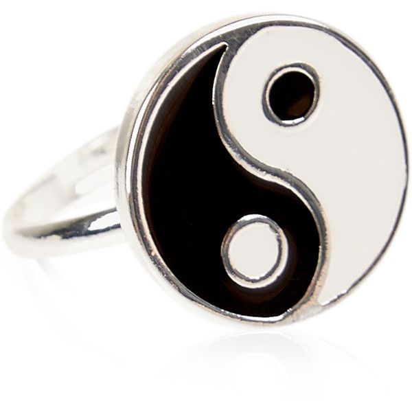Monsoon Ying Yang Ring ($4) ❤ liked on Polyvore featuring jewelry, rings, accessories and accessorize jewellery