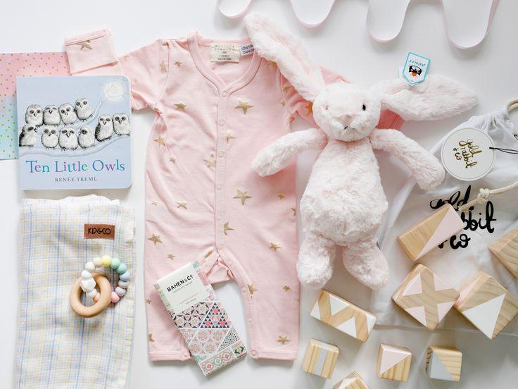 Baby Girl Hamper | Tenderly | Premium Newborn Gift  | Young Willow