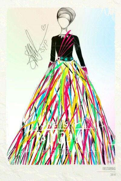 Night dress~ Rainbow :)