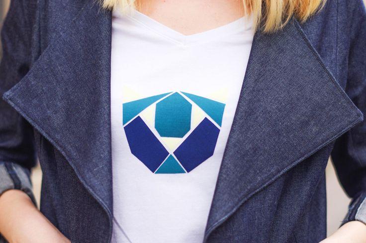LE DIY DU T-SHIRT AU MOTIF ORIGAMI EN THERMOCOLLANT Le DIY du T-shirt au motif origami en thermocollant Les DIY Frou-Frou x Atelier Svila : #4 le T-shirt origami en thermo de Julie