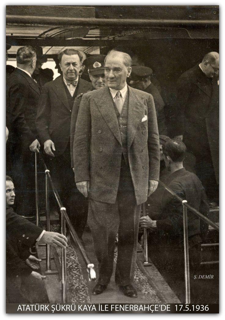 Atatürk - Fenerbahçe 17.05.1936