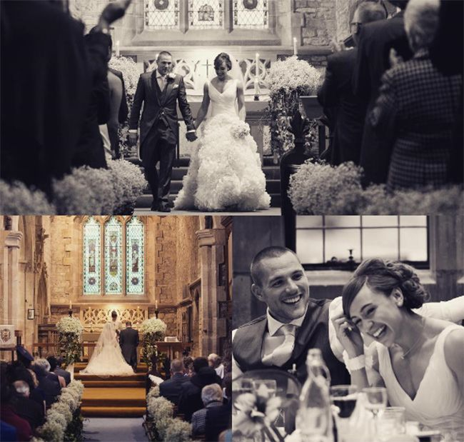 Jessica Ennis Hill shares unseen wedding photos to celebrate her anniversary to husband Andy Hill