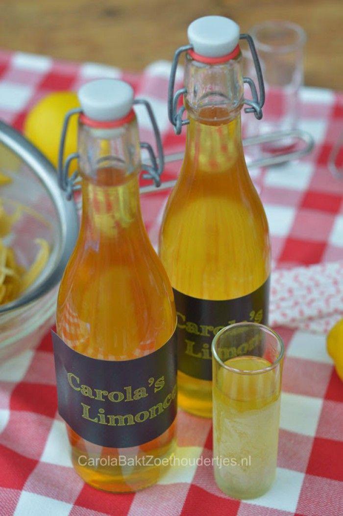 Je eigen limoncello maken? Dat is heel makkelijk en erg leuk om te geven en te krijgen.  En natuurlijk om zelf goed gekoeld te drinken. Waan je in Italië.