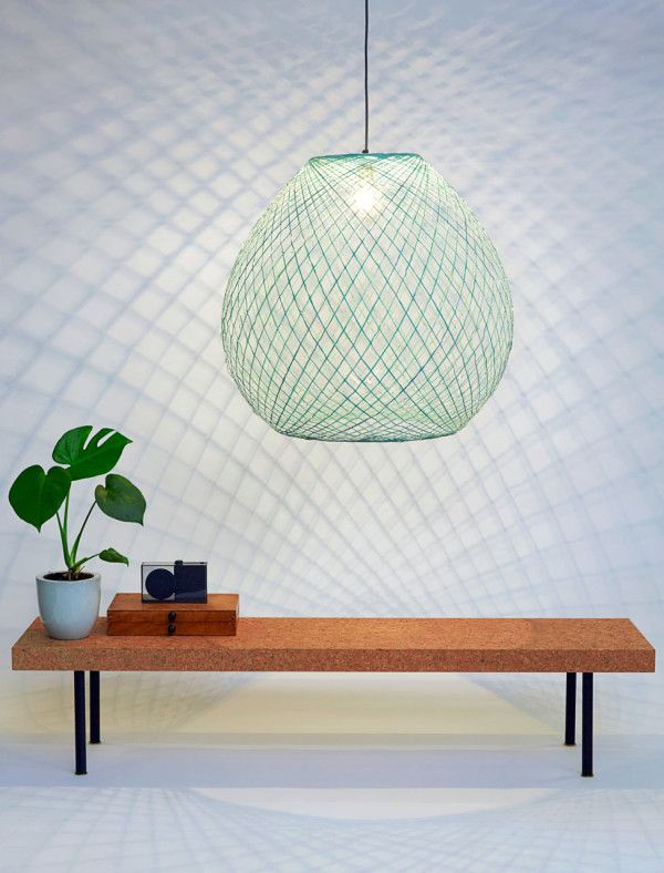 A Lamp Made with the Help of a Robot