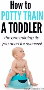 How to Potty Train a Toddler   Potty Training Tip  Tips for Potty Training