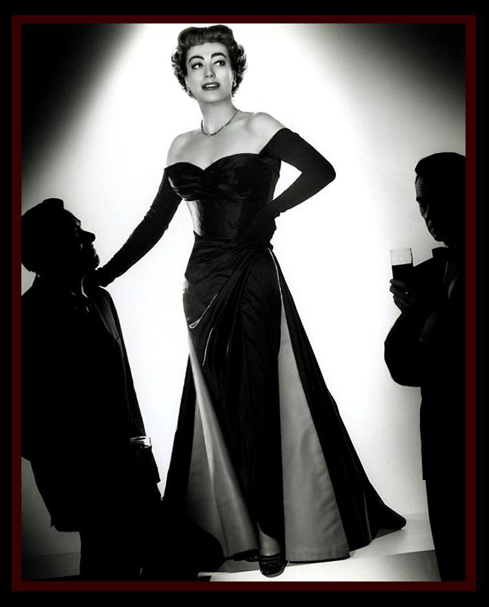 Joan Crawford Dresses | Old Hollywood Dresses – Joan Crawford | Matthew's Island of Misfit ...