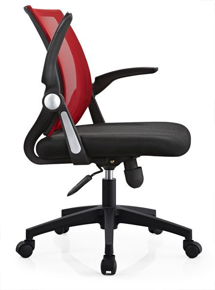 Shunde Factory Office Room Computer Staff Rolling Chair Swivel Adjustable Armrest Working Seating - China Office Chairs & Fiberglass Leisure Seating Manufacturer in Alibaba