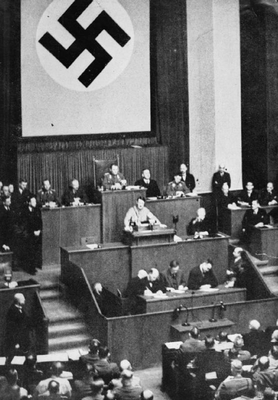 a history of hitlers enabling act On 23 march 1933, the german reichstag voted in the enabling act, allowing hitler to rip up the constitution he'd been in power less than two months on 30 january 1933, hitler was appointed chancellor within a coalition government, achieving what he had striven for since 1923 – power through.