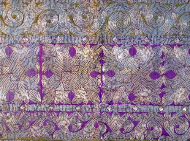 19th.cent. Minangkabau embroidery,Sumatra,cm.32x65,very good condition