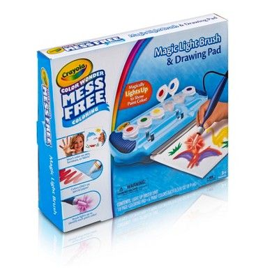 Crayola Color Wonder Magic Light Brush & Drawing Pad,