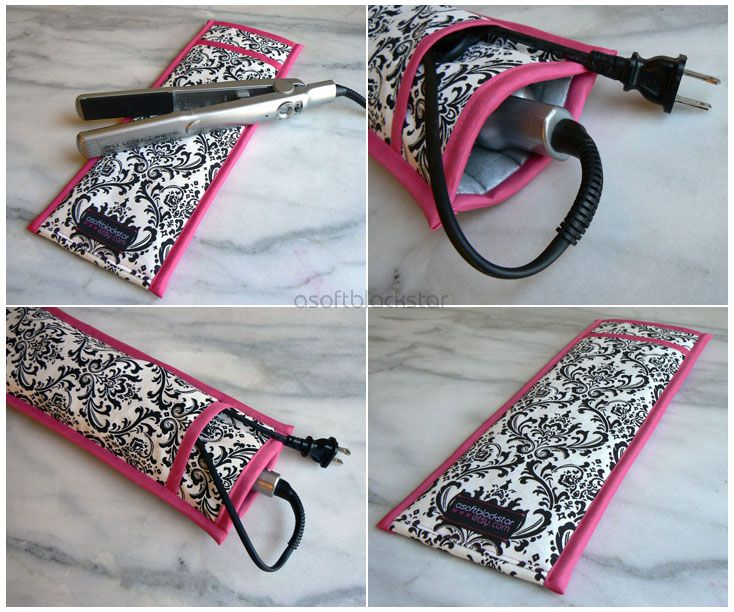 Flat Iron / Curling Iron Travel Cases