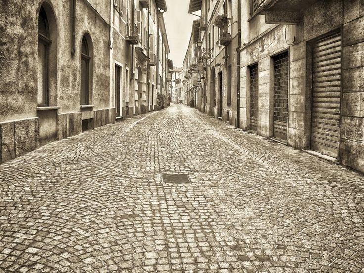 empty street by Giancarlo Gallo
