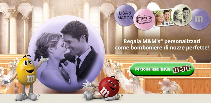 matrimonio confetti personalizzati