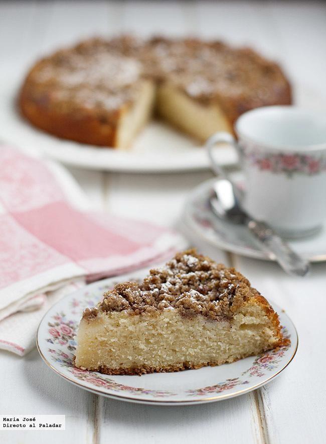 Cake de peras y nueces. Receta