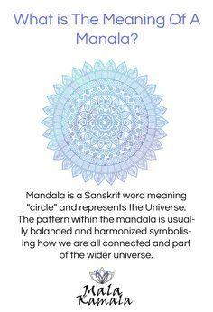 What is the meaning of a mandala? Where does a mandala come from? What is a mandala? Mandala Meditation. Spiritual Yoga Symbols and What They Mean Mala Kamala Mala Beads - Boho Malas, Mala Beads, Yoga Jewelry, Meditation Jewelry, Mala Necklaces and Bracel