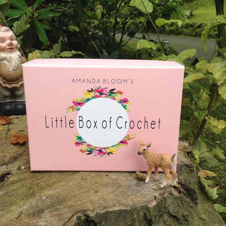Finally a subscription box for for crocheters. Www.littleboxofcrochet.co.uk