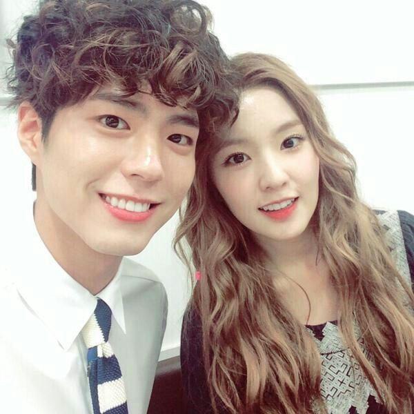 Park bo gum & Irene <3