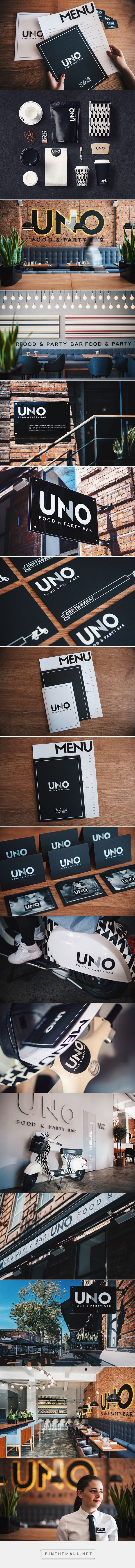 Uno Food and Party Bar on Behance | Fivestar Branding – Design and Branding Agency & Inspiration Gallery